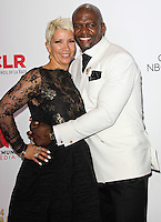PASADENA, CA, USA - OCTOBER 10: Rebecca King-Crews, Terry Crews pose in the press room at the 2014 NCLR ALMA Awards held at the Pasadena Civic Auditorium on October 10, 2014 in Pasadena, California, United States. (Photo by Celebrity Monitor)