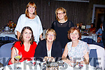 Enjoying the fashion show on the catwalk in aid of Ballymac GAA in the Rose Hotel on Sunday were seated l-r: Caroline O'Connell, Kathleen Griffin and Ester McCarthy. Back l-r: Helen Slattery and Maureen O'Shea.