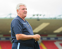 Sheffield Wednesday's manager Steve Bruce prior to the game<br /> <br /> Photographer Chris Vaughan/CameraSport<br /> <br /> Football Pre-Season Friendly - Lincoln City v Sheffield Wednesday - Saturday July 13th 2019 - Sincil Bank - Lincoln<br /> <br /> World Copyright © 2019 CameraSport. All rights reserved. 43 Linden Ave. Countesthorpe. Leicester. England. LE8 5PG - Tel: +44 (0) 116 277 4147 - admin@camerasport.com - www.camerasport.com