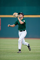 Jorge De Goti (3) of Belen Jesuit Preparatory School in Miami, FL during the Perfect Game National Showcase at Hoover Metropolitan Stadium on June 18, 2020 in Hoover, Alabama. (Mike Janes/Four Seam Images)