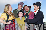 Mercy Mounthawk students getting ready to stage their production of 'Oliver' from left: Una Nolan, Colin Kirby, Ryan O'Sullivan, Cathal O'Donnell and Louis Ryle.