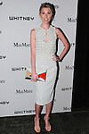 Anastasia Rogers arrives at the annual Whitney Art Party hosted by the Whitney Contemporaries, and sponsored by Max Mara, at Skylight at Moynihan Station on May 1, 2013.