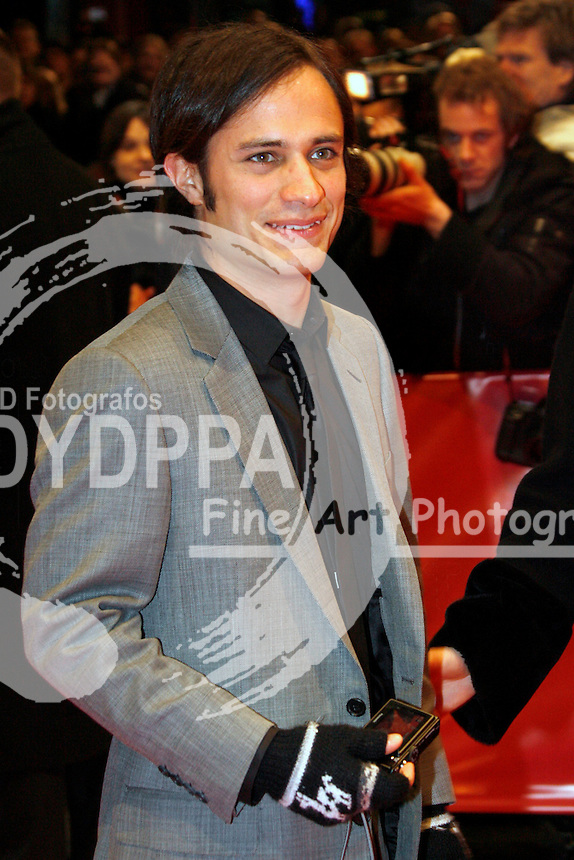 "Actor Gael Garcia Bernal at the Berlinale 2007, 57. Internationale Filmfestspiele Berlin / 57th Berlin International Film Festival, Premiere of ""Angel"""