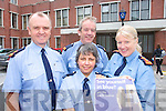 RECRUITMENT: Superintendent Pat O'Sullivan, Inspector Martin McCarthy, Chief Superintendent Mary Fitzgerald and Garda Reserve Dora O'Callaghan (front) at the launch of the Garda Reserve recruitment drive at Tralee Garda Station on Tuesday.   Copyright Kerry's Eye 2008