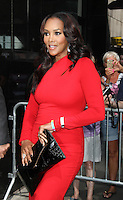 "August 30, 2012: Vivica Fox stops by Good Afternoon America Studios to discuss the Hot Topic of the Day, ""Are Manly Men a Dying Breed"" in New York City...Credit:© RW/MediaPunch Inc. /NortePhoto.com<br />