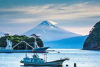 Mt Fuji, Heda Port on the Izu Peninsula