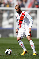 Rayo Vallecano's Alejandro Arribas  during La Liga  match. February 24,2013.(ALTERPHOTOS/Alconada)