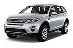 2016 Land Rover Discovery Sport HSE Luxury 5 Door Suv Angular Front stock photos of front three quarter view