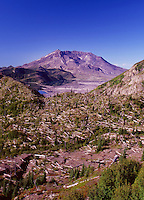 Mt. St. Helens from Norway Pass, Mt. St. Helens National Volcanic Monument, Washington, US