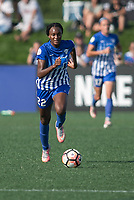 Allston, MA - Saturday August 19, 2017: Ifeoma Onumonu during a regular season National Women's Soccer League (NWSL) match between the Boston Breakers and the Orlando Pride at Jordan Field.