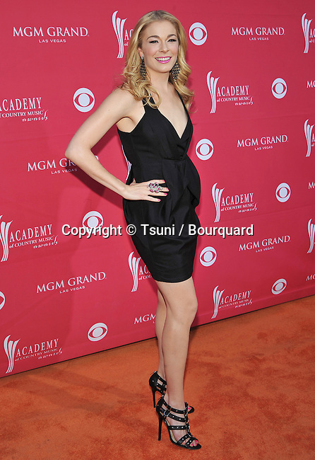 LeAnn Rimes -<br /> 44th Annual American Country Music Awards 2009 at the MGM Hotel in Las Vegas. NV