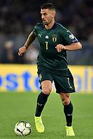 Leonardo Spinazzola Italy <br /> Roma 12-10-2019 Stadio Olimpico <br /> European Qualifiers Qualifying round Group J <br /> Italy - Greece <br /> Photo Andrea Staccioli/Insidefoto
