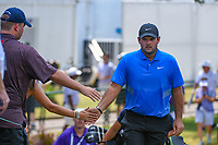 Patrick Reed (USA) makes his way to the tee on 10 during round 4 of the WGC FedEx St. Jude Invitational, TPC Southwind, Memphis, Tennessee, USA. 7/28/2019.<br /> Picture Ken Murray / Golffile.ie<br /> <br /> All photo usage must carry mandatory copyright credit (© Golffile | Ken Murray)