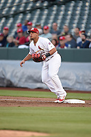 ***Temporary Unedited Reference File***Memphis Redbirds first baseman Jonathan Rodriguez (29) during a game against the Omaha Storm Chasers on May 5, 2016 at AutoZone Park in Memphis, Tennessee.  Omaha defeated Memphis 5-3.  (Mike Janes/Four Seam Images)