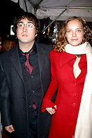 SEAN LENNON_BIJOU PHILLIPS<br /> K27928JBB             SD1205 <br /> THE WORLD PREMIERE OF THE LORD OF THE RINGS THE TWO TOWERS AT THE ZIEGFELD THEATRE IN NEW YORK CITY <br /> PHOTO BY: John Barrett/ PHOTOlink.net/ MediaPunch ©2002