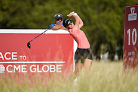 Charlotte Thomas (ENG) watches her tee shot on 10 during round 4 of the Volunteers of America Texas Classic, the Old American Golf Club, The Colony, Texas, USA. 10/6/2019.<br /> Picture: Golffile | Ken Murray<br /> <br /> <br /> All photo usage must carry mandatory copyright credit (© Golffile | Ken Murray)