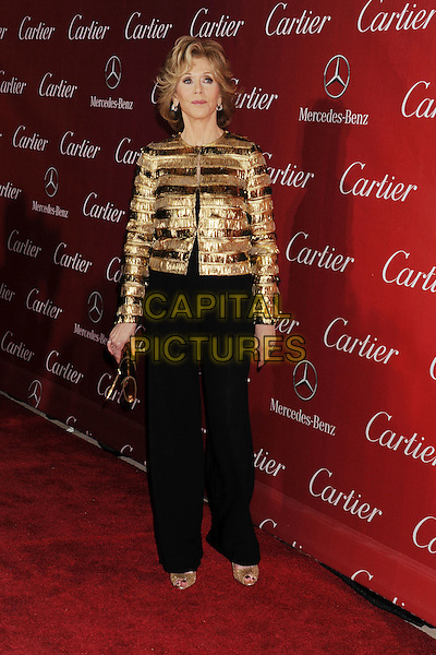 PALM SPRINGS, CA- JANUARY 04: Actress Jane Fonda arrives at the 25th Annual Palm Springs International Film Festival Awards Gala at Palm Springs Convention Center on January 4, 2014 in Palm Springs, California.<br /> CAP/ROT/TM<br /> &copy;Tony Michaels/Roth Stock/Capital Pictures