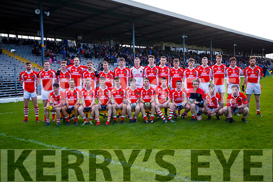 The West Kerry Team who played Dr Crokes in the Kerry Senior Football Championship Semi Final at Fitzgerald Stadium on Saturday.
