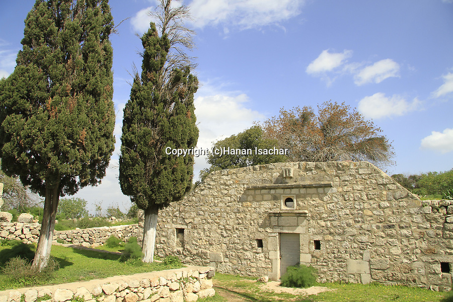 "Israel, ""Cave of Melchizedek"" chapel on Mount Tabor"