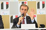 Marco Mario Scolaris, <br /> AUGUST 7, 2015 : <br /> International Federation of Sport Climbing (IFSC) <br /> holds a media conference following its interview <br /> with the Tokyo 2020 Organising Committee in Tokyo Japan. <br /> (Photo by YUTAKA/AFLO SPORT)