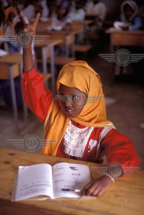 © Giacomo Pirozzi / Panos Pictures..ERITREA..Muslim schoolgirl.