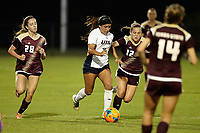 SAN ANTONIO, TX - AUGUST 11, 2017: The University of Texas at San Antonio Roadrunners fall to the Texas State University Bobcats 2-0 in an exhibition Soccer match at the Park West Athletics Complex. (Photo by Jeff Huehn)