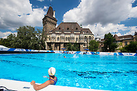Japan Team training <br /> Synchronised swimming , Synchro<br /> 12/07/2017 <br /> XVII FINA World Championships Aquatics<br /> City Park - Varosliget Lake<br /> Budapest Hungary <br /> Photo Andrea Staccioli/Deepbluemedia/Insidefoto