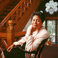 "Ruth Simmons, Smith College, Northampton, MA for ""Black Enterprise"" magazine"