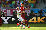 (L to R) <br /> Philipp Lahm (GER), <br /> Cristiano Ronaldo (POR), <br /> JUNE 16, 2014 - Football /Soccer : <br /> 2014 FIFA World Cup Brazil <br /> Group Match -Group G- <br /> between  Germany 4-0 Portugal <br /> at Arena Fonte Nova, Salvador, Brazil. <br /> (Photo by YUTAKA/AFLO SPORT)