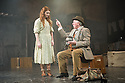 London, UK. 03.04.2014. FINIAN'S RAINBOW opens at the Charing Cross Theatre, in a transfer from the Union Theatre. Music by Burton Lane, Lyrics by E.Y. Harburg, book by E.Y. Harburg and Fred Saidy, adapted by Charlotte Moore. Directed by Phil Wilmott. Picture shows: Christina Bennington (Sharon) and James Horne (Finian McLonegan). Photograph © Jane Hobson.