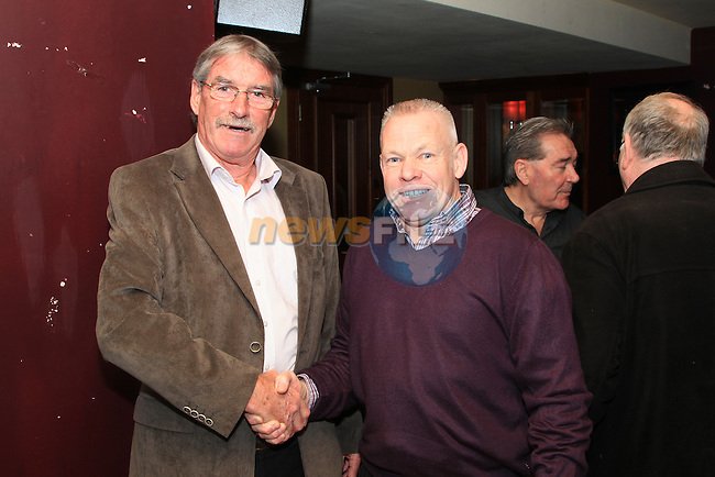 John Moonan and Derek Kelly at the Peter Lyons' Bakery Reunion in McHughs..Picture: Shane Maguire / www.newsfile.ie.