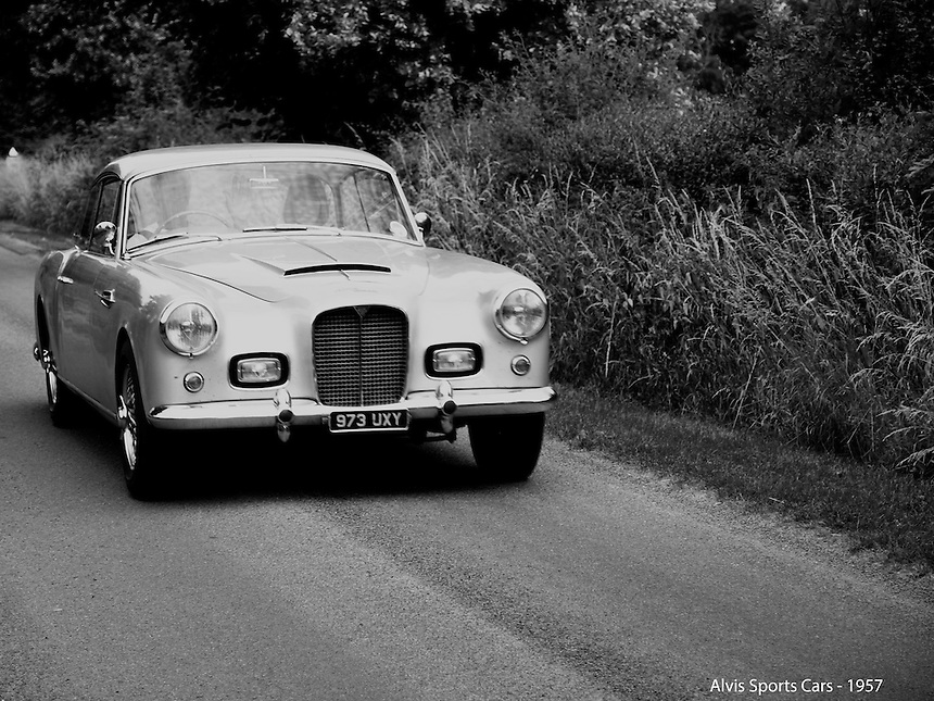 Alvis Sports Cars - 1957, Alvis Sports Cars,   Black and White Photography, B&W images, Classic Cars, Old Cars, Time Travel, Good Old Days,B&W Transport Images, £-s-d Black and White Photography, B&W images, Classic Cars, Old Cars, Time Travel, Good Old Days,B&W Transport Images, £-s-d Classic Cars, Old Motorcars, imagetaker!, imagetaker1, pete barker, car photographer,
