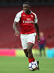 Arsenal's Josh Da Silva in action during the premier league 2 match at the Emirates Stadium, London. Picture date 21st August 2017. Picture credit should read: David Klein/Sportimage