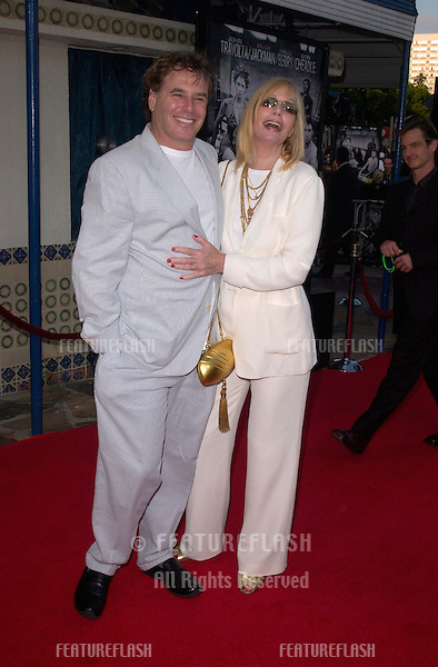 Actress SALLY KELLERMAN & producer husband JOHNATHAN D. KRANE at the Los Angeles premiere of his new movie Swordfish..04JUN2001.  © Paul Smith/Featureflash