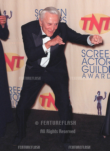 07MAR99: Actor KIRK DOUGLAS at the Screen Actors Guild Awards where he received the Lifetime Achievement Award.                    .© Paul Smith / Featureflash