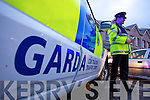 Garda Traffic corps on duty in the pre christmas speed checks   Copyright Kerry's Eye 2008