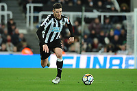 Ciaran Clark of Newcastle United during Newcastle United vs Luton Town, Emirates FA Cup Football at St. James' Park on 6th January 2018
