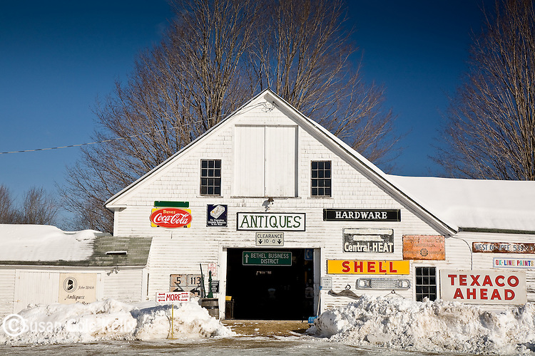 Antique shop in Bethel, ME