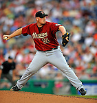 11 July 2008: Houston Astros' relief pitcher Chad Paronto on the mound against the Washington Nationals at Nationals Park in Washington, DC. The Nationals shut out the Astros 10-0 in the first game of their 3-game series...Mandatory Photo Credit: Ed Wolfstein Photo