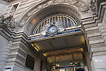 Entrance to Waterloo railway station, London UK