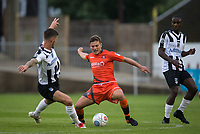 Dominic Gape of Wycombe Wanderers during the Pre Season Friendly match between Maidenhead United and Wycombe Wanderers at York Road, Maidenhead, England on 28 July 2017. Photo by Andy Rowland.