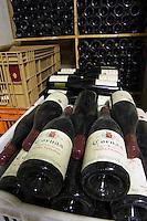 pile of bottles cornas vieilles fontaines 2001 dom a voge cornas rhone france