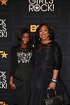 Harper Rhimes and Shonda Rhimes at the 2016 BLACK GIRLS ROCK! Hosted by TRACEE ELLIS ROSS  Honors RIHANNA (ROCK STAR AWARD), SHONDA RHIMES (SHOT CALLER), GLADYS KNIGHT LIVING LEGEND AWARD), DANAI GURIRA (STAR POWER), AMANDLA STENBERG YOUNG, GIFTED & BLACK AWARD), AND BLACK LIVES MATTER FOUNDERS PATRISSE CULLORS, OPALL TOMETI AND ALICIA GARZA (CHANGE AGENT AWARD) HELD AT NJPAC