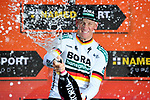 German Champion Pascal Ackermann (GER) Bora-Hansgrohe wins Stage 5 of the 2019 Giro d'Italia, running 140km from Frascati to Terracina, Italy. 15th May 2019<br /> Picture: Gian Mattia D'Alberto/LaPresse | Cyclefile<br /> <br /> All photos usage must carry mandatory copyright credit (© Cyclefile | Gian Mattia D'Alberto/LaPresse)