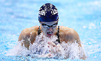 PICTURE BY VAUGHN RIDLEY/SWPIX.COM - Swimming - British Swimming Championships 2012 (Olympic Selection Trials) - Aquatics Centre, Olympic Park, London, England - 04/03/12 - Kate Haywood competes in the Women's 100m Breaststroke Semi-Finals.