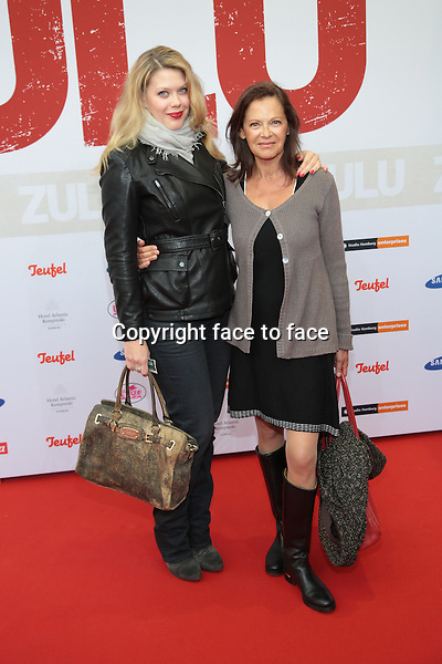 Lisa and Angela Roy at the german premiere of &quot;ZULU&quot; at Cinemaxx in Hamburg, Germany, 05.05.2014.<br /> Credit: Andre Mischke/face to face