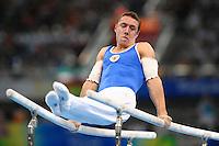 Nikolay Kryukov, Russia, Men's Parallel Bars .National Indoor Stadium - Gymnastic - ginnastica.Pechino - Beijing 19/8/2008 Olimpiadi 2008 Olympic Games.Foto Andrea Staccioli Insidefoto