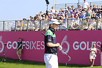 Gavin Moynihan of Team Ireland in action on day 2 at the GolfSixes played at The Centurion Club, St Albans, England. <br /> 06/05/2018.<br /> Picture: Golffile | Phil Inglis<br /> <br /> <br /> All photo usage must carry mandatory copyright credit (&copy; Golffile | Phil Inglis)