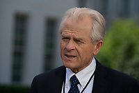 Peter Navarro,Assistant to the President, Director of Trade and Industrial Policy speaks to television at the White House in Washington, DC, June 1, 2018. <br /> CAP/MPI/RS<br /> &copy;RS/MPI/Capital Pictures
