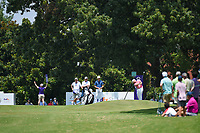 Tyrrell Hatton (ENG) hits his tee shot on 8 during round 3 of the WGC FedEx St. Jude Invitational, TPC Southwind, Memphis, Tennessee, USA. 7/27/2019.<br /> Picture Ken Murray / Golffile.ie<br /> <br /> All photo usage must carry mandatory copyright credit (© Golffile | Ken Murray)